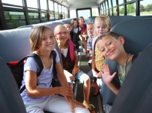 Your child will be safely transported to our after school program each day!